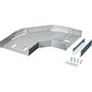 KT WS 40, Kabelträger-Winkelstück, 45-100 Grad verstellbar, 400 mm breit