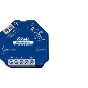 MFZ61DX-UC, Analog einstellb. Multifunktions-Zeitrelais UC. 1 Schließer