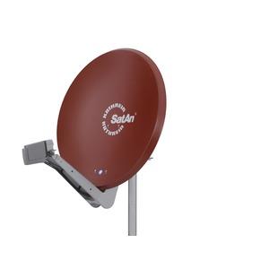 CAS 90ro Offset-Parabolant. 90 cm rotbr., CAS 90ro Offset-Parabolant. 90 cm rotbr.