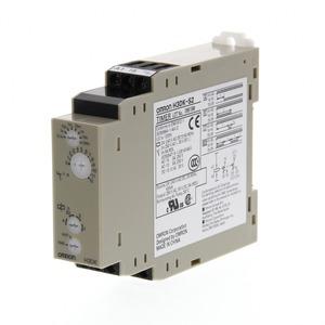 H3DK-S2 24-240VAC/DC, 4 Zeitfunktionen, 0,1s..1200h, 2 W (1 W umschaltbar: 1 Sofortkontakt), 5 A, 24 bis 240 VAC/VDC