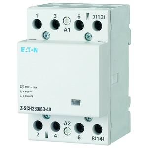 Z-SCH230/63-40, Installationsschütz, 230 VAC, 63A, 4 Schließer, Z-SCH230/63-40