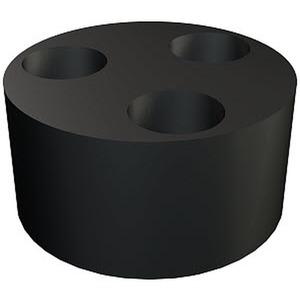 107 C VM 20 4x5, Mehrfachdichteinsatz zur V-TEC VM VM20,4X5, NBR-SBR, schwarz