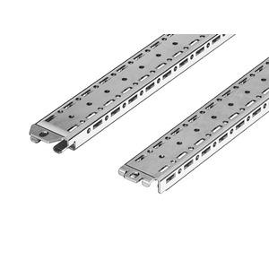VX 8617.720, VX Montageschiene 18 x 39 mm, B/T: 600 mm, Preis per VPE, VPE = 4 Stück