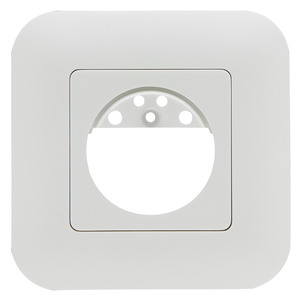 Rahmen IP20 Indoor 180 verkehrsweiß matt, ähnlich, Rahmen IP54 zur Kombination mit den Sensoreinsätzen für die automatischen Wandschalter Indoor 180
