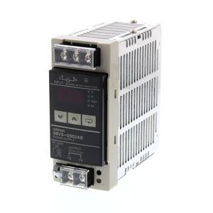S8VS-09024B, Schaltnetzteil, 90 W, 100 bis 240 VAC Eingang, 24 VDC 3,75 A Ausgang, DIN-Schienenmontage, mit Digitalanzeige, NPN
