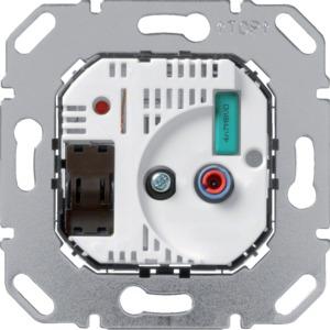 RT-Regler-Einsatz mit Schalter und LED