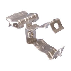 8M24SMS1, H-MSM Flanschklipp mit Kabelschutzrohr/Rohr Schelle, seitliche Montage, S301, 18–22 mm OD, 3–8 mm (1/8–1/4) Flansch