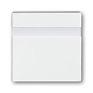 6815-84, Busch-Komfortschalter Bedienelement, studioweiß, carat, Bedienelemente für Bewegungsmelder/Komfortschalter