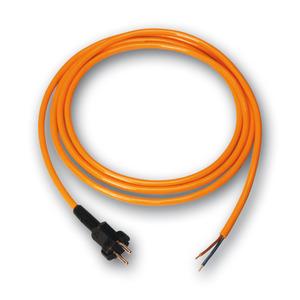 9805315, Gerätel. PUR 3*1.5mm 5m orange SST IP44