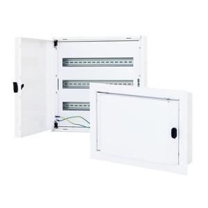 Starkstrommodul für Hybridgehäuse H166 x B500 x T110 mm RAL9003
