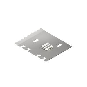 LZTP 100, Trennprofilhalter mit Zugentlastung, Kanaltiefe 99 mm, Stahl, bandverzinkt DIN EN 10346
