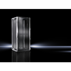 VX 5312.114, VX IT, belüftet, 19-Profilschienen standard, RAL7035, BHT 800x2200x800mm, 47HE