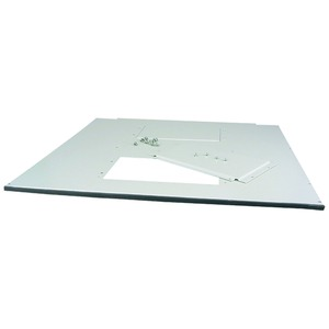 NWS-BDA/2/FLB/8800/OM, Boden-/Dachplatte, für BxT=800x800mm, für NWS, oben montiert