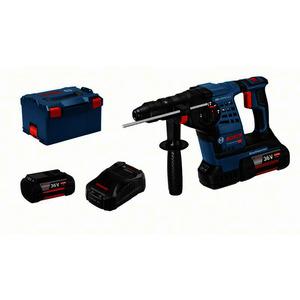 GBH 36 V-LI Plus, Akku-Bohrhammer mit SDS plus GBH 36 V-LI Plus, mit 2 x 4.0 Ah Li-Ion Akku,L-BOXX