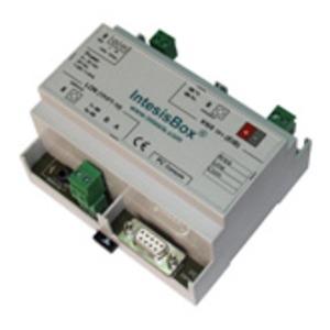IBOX-KNX-LON-100, Intesis Gateway KNX - LonWorks (für 100 Datenpunkte und bis zu 128 Geräte)
