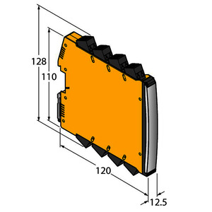 IMX12-FI01-1SF-1I1R-C0/24VDC/CC, Frequenzmessumformer / Puls-Counter, 1-kanalig, TÜV 16 ATEX 192124 X