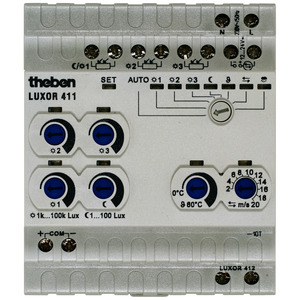 LUXOR 411, Sensormodul LUXOR 411, Erweiterungsmodul