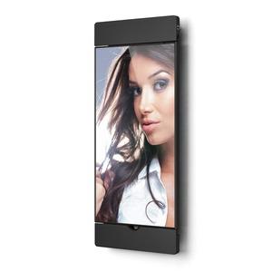 """sDock Air schwarz 2.Generation, Abschließbare und um 90° drehbare Wandhalterung 2. Generation für iPad 9,7"""" - Ladestation. Fotorahmen - Alles in einem."""
