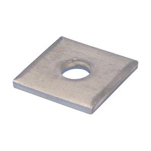 ZE100, Unterlegscheibe, 4-eckig, Stahl, HD, 13 mm (0,512) Loch, Schraube