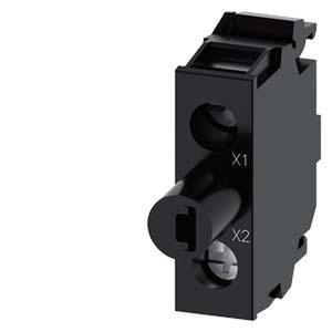 3SU1401-2BB60-1AA0, LED-Modul mit integrierter LED, AC/DC 24V, weiß