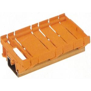 RF RS 70 LI/A2/O.SG OR 1665, Rastfuß, RS 70 orange, Rastfuß, Breite: 10 mm