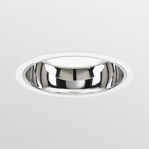 DN570B LED24S/830 POE F WH, LED Einbaudownlight, Compact Bauform, warmweiß 3000K, Ra > 80, facettierter Reflektor, weiß, unterstützt Power Over Ethernet