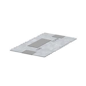 GS-KUP70, Kupplung universal, für Kanaltiefe 70 70x120x0,5, V2A, 1.4301