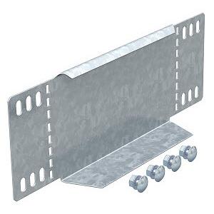 RWEB 140 FS, Reduzierwinkel/ Endabschluss für Kabelrinne 110x400, St, FS