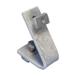 ZW219A45, 1-1 Loch Innenwinkelverbinder, HD, 45° x 100 mm x 67 mm (3,94 x 2,64), M10 Schraube