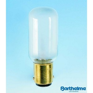Nählicht-Röhrenlampe 22x63 BA15d 235V 25W imatt