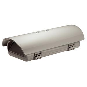 Videotec Schutzgehäuse m.Sonnendach+Heizung,230 VAC,270 mm,IP-66,RAL-9002