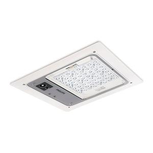 BBP400 ECO75-3S/757 I PAM WH MDU PH CFRM, LED, 7500 lm, 5700 K, Asymmetrisch mediumstrahlend, Bewegungsmeldereinheit, SK I, Weiß, Einbau