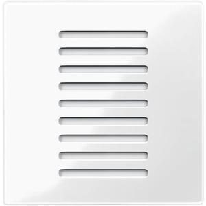 Raumtemperaturregler für den Objektbereich, polarweiß glänzend, System M