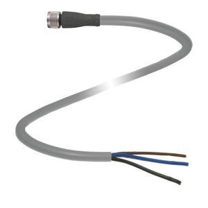 M8 Sensor Zuleitung Kabel 10M Gerade 4 Adern P+F 116462 V3-GM-10M-PUR
