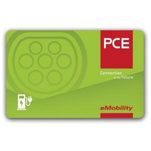 RFID Karte PCE Logo Mifare 1K 5 Stk.Pack (Preis per Stück)