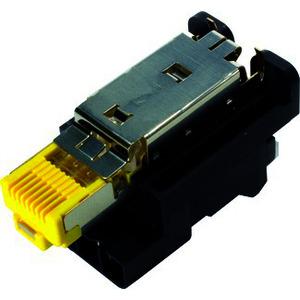 09451001760, Han3A RJ45 Hybrid 10G Einsatz 8+4p IDC