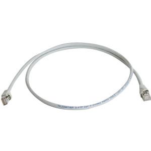 HSFTPPK0,5, Cat6A HQ-Patchkabel, 0,5m, Farbe: grau, S/FTP, AWG27