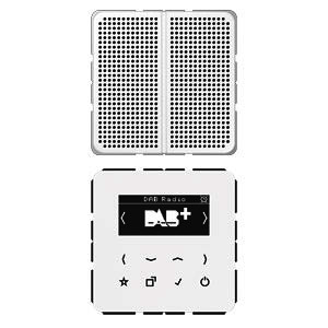DAB CD1 WW, Smart Radio DAB+, Display, Set Mono, 1 Lautsprecher