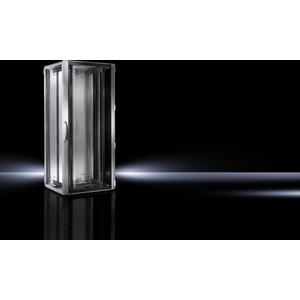 DK 5503.120, Netzwerk-/Serverrack, mit Sichttür,19-Profilschienen, BHT 800x1200x800 24HE