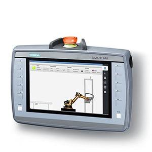 6AV2125-2JB23-0AX0, SIMATIC HMI KTP900F Mobile, 9.0 TFT-Display, 800x 480 Pixel, 16m Farben, Tasten-und Touchbedienung, 10 Funktionstasten, 1x PROFINET/Industrial Ethern