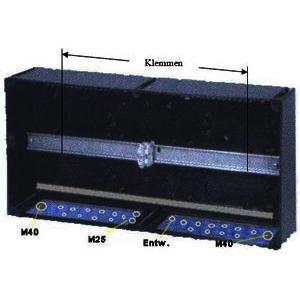 GHG 746 0302 R1100, Ex-I-Klemmkasten 746, 64 Klemmen, VPE=1 Preis per Stück