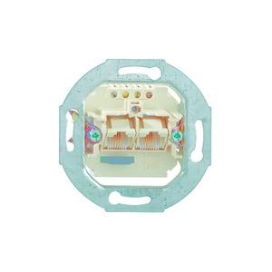 IAE/UAE 2x8 (4) TRS Up 0, ISDN-Anschluss-Einheit Unterputz mit schaltbarem 100 Ohm Abschlusswiderstand