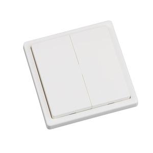 Wandtaster Easywave 868 MHz 4-Kanal 2x Ein/Aus weiß