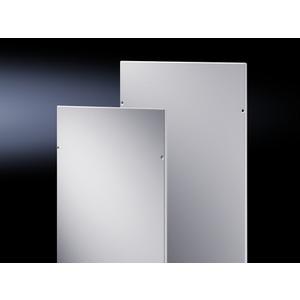 TS 8106.750, EMV-Seitenwände, für TS, für Schrank HxT 2000x600 mm, RAL 7035, Preis per VPE, VPE = 2 Stück
