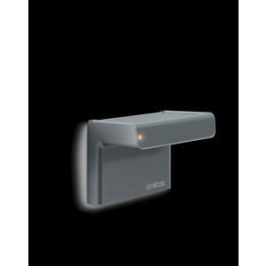 iHF 3D KNX anthrazit, Bewegungsmelder iHF (Intelligente Hochfrequenz-Technik), Aufputz, IP54, 160° Reichweite max: r = 7 m (68 m²)