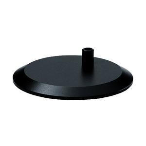 Tischfuss rund, schwarz, 190186019