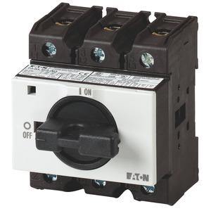 P3-63/IVS/HI11, Ein-Aus-Schalter Verteiler-Einbau, 1 Schließer, 1 Öffner, Zubehör Nockenschalter