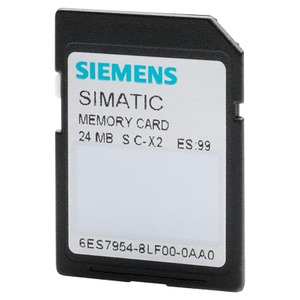 6ES7954-8LF03-0AA0, SIMATIC S7, Memory Card für S7-1x00 CPU/SINAMICS, 3, 3V Flash, 24 MByte