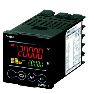 E5CN-HTQ2M-500 100-240 VAC, Temperaturregler, PROplus, 1/16DIN (48x48mm), Universaleingang (TC, RTD, Linear), SSR (12 VDC) Ausgang, 100-240 VAC