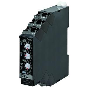 K8DT-TH1TD, Überwachungsrelais, 17.5mm, Über-/Untertemperatur, 0-999°C/F, Thermoelement und PT100, 1 Transistor, 24V AC/DC